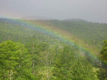 another rainbow and the Green Mountain National Forest