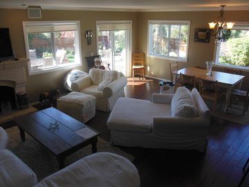 Santa Barbara house rental - Living room