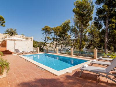 Villa on the sea with unique views and Puerto Soller