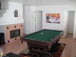 Living room with pool table - Las Vegas house vacation rental photo