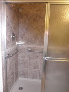 Master Bath--60 inch Shower--ADA compliant grab bars