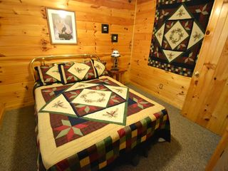 Sevierville cabin photo - All four bedrooms are cozy and PRIVATE!