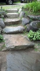 Bridgton lodge photo - Steps from drive way.