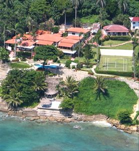 Aerial View of Villa Cabofino