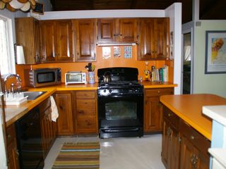 Conway chalet photo - Kitchen w/ everything the gourmet chef needs.