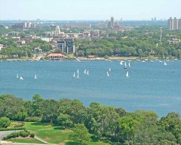 Lake Calhoun - Summer sailboats in the city