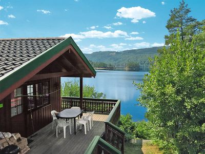 Vacation home Kvasfossen  in Konsmo, Southern Norway - 6 persons, 3 bedrooms