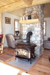 Sullivan lodge photo - Fireplace to warm and drink hot chocolate or wine although not cold in Summer!!!