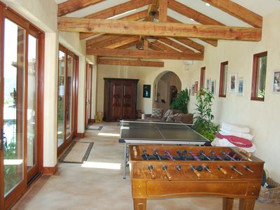 Rancho Santa Fe villa rental - Playroom for Big Kids!