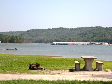 Hickory Creek park & marina view from Park 1.3 miles from property