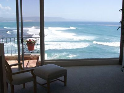 View of surf from Master Bedroom