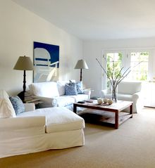 Malibu house photo - Furniture and ambiance is simple and clutter-free.