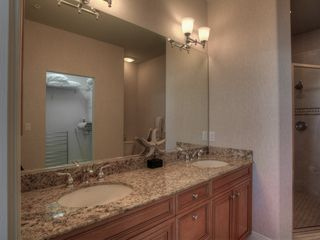Bradenton Beach condo photo - Master Bathroom with Double Sinks and Granite Countertops
