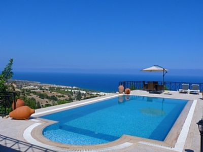 Villa Private Pool with Outstanding Sea and Mountain Views