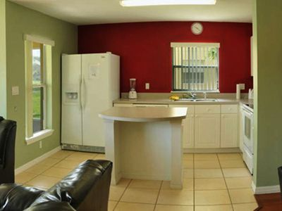 Spacious Open Fully Equipped Kitchen