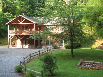Weaverville cabin rental - Chestnut Lodge