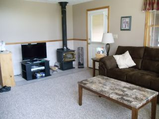 Woodstock townhome photo - Wood burning stove to keep you warm!