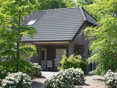 Luxury villa with sauna in a holiday park with a pool, in a beautiful area