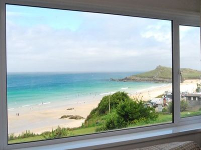 St Ives house rental - View from Living Room