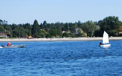 World famous Cadboro Bay beach is about 5 minutes drive.