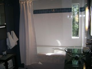 Pender Island house photo - Newly renovated Spa Bath with Access to Ocean Front Hot Tub