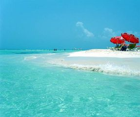 Isla Mujeres condo photo - The white sand beaches on Isla..