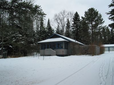 Winter view front