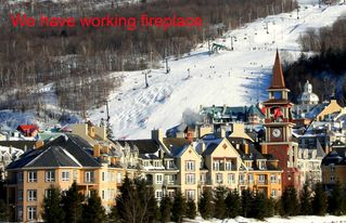 Mont Tremblant condo photo - We love skiing; and our condo has working fireplace!
