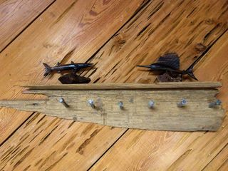 Apalachicola cabin photo - cypress wood detail
