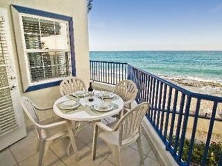 Simpson Bay studio photo - Balcony with Ocean view at the Flamingo Beach Resort
