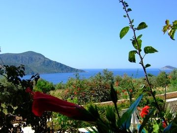 Kalkan apartment rental - Just super breakfast view