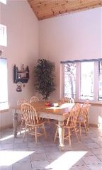 Wautoma house photo - Nice dining area with amazing view of the lake