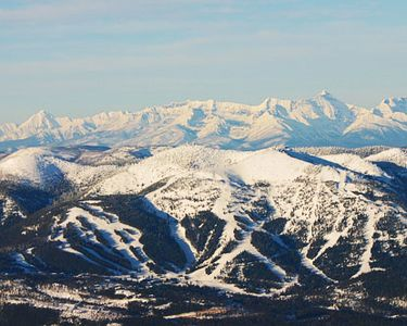 Whitefish house rental - Whitefish Ski Resort on Big Mountain