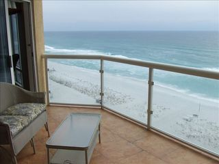 Pensacola Beach condo photo - Balcony over looking the Gulf