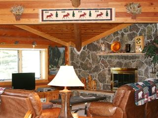 Big Sky cabin photo - High Altitude Property Management - Living Room