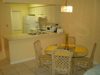 Court of Palms condo photo - Kitchen and dining area