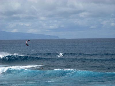 Haiku apartment rental - World famous windsurf/kitesurf site - Ho'okipa Beach Park, 5 minutes from rental