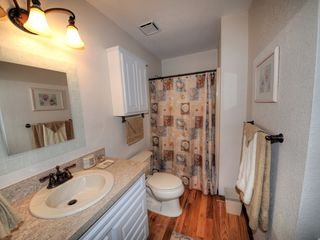 Virginia Beach farmhouse photo - The bath is located between the rooms. Newly remodeled!!