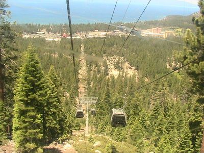 The Heavenly Gondola is a 5-mintue drive from The Mountain Townhouse.
