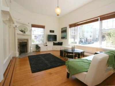 San Francisco studio rental - Living Room...