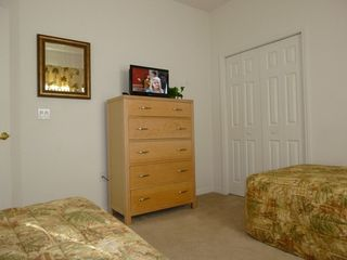 Haines City villa photo - Bedroom 4 with flatscreen TV / DVD