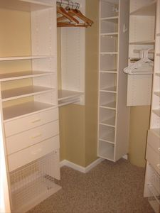 Endless closet space