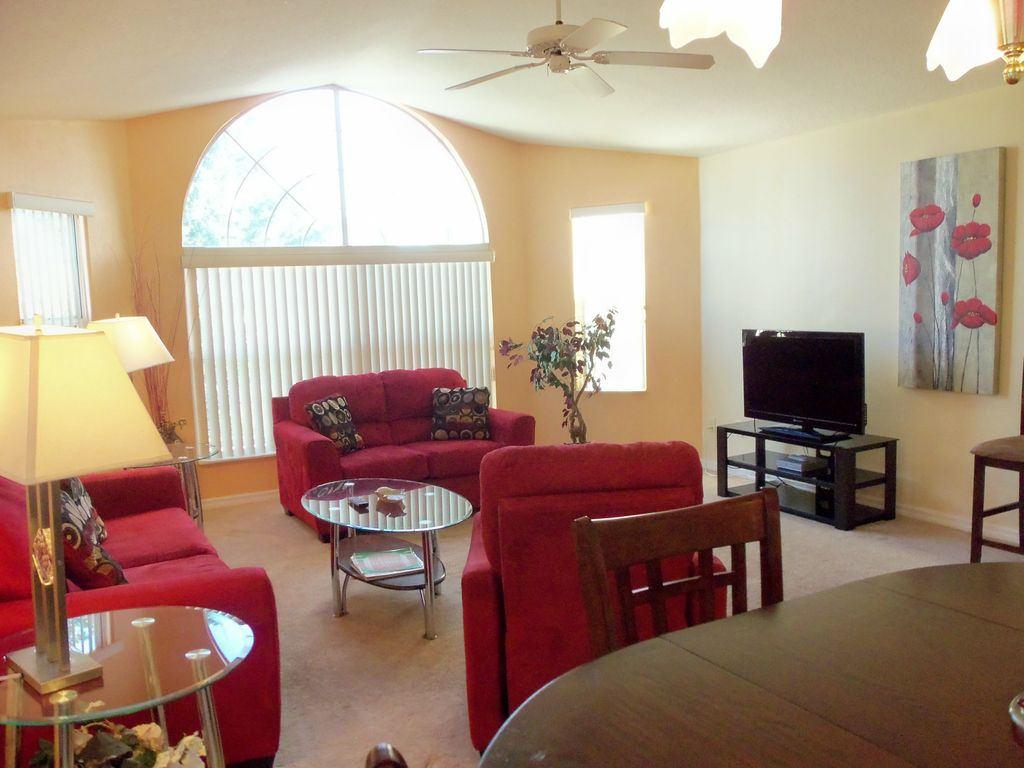 Only 5 Minutes To Disney World Beautiful 3 VRBO