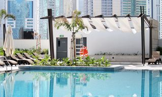 Dubai Marina & Al Sufouh apartment photo - Pool area
