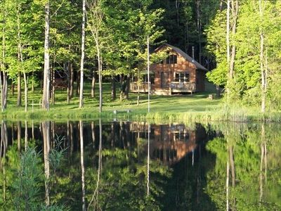 BEAUTIFUL SECLUDED CHALET IN THE WOODS P;EASE CONTACT OWNER FOR ALL PRICING
