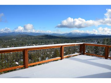 Tahoe Donner house rental - View from upper deck