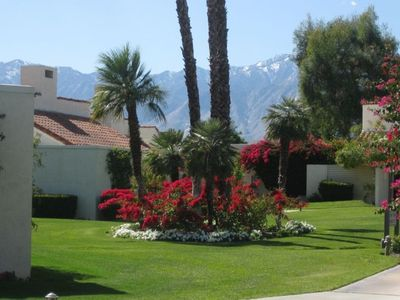 Mission Hills is beautifully maintained. We love the flowers and mountain views.