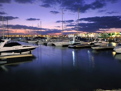 Marina by night