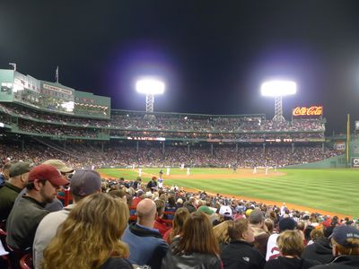 Green monster! Fenway park is only 3 miles away