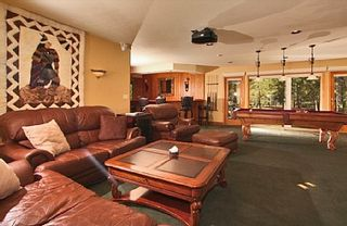 Al Tahoe estate photo - Media and Game room